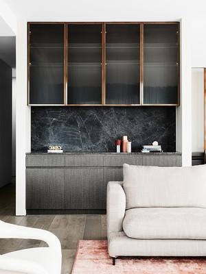 100平米后现代风格极简主义室内装修实景图鉴赏