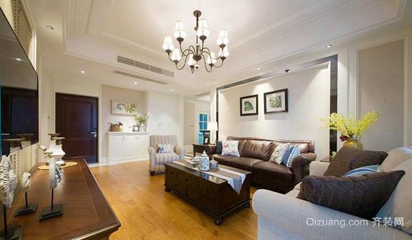 89平米简欧风格精装两室两厅装修效果图案例