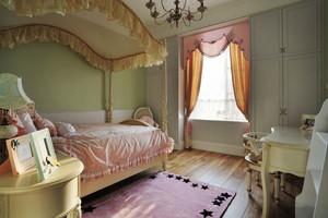 欧式风格粉色甜美儿童房装修效果图赏析