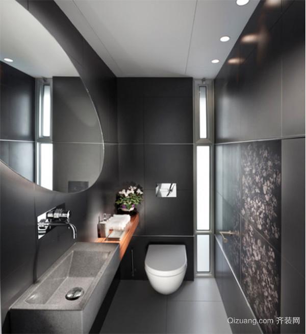 现代风格时尚唯美卫生间装修效果图大全