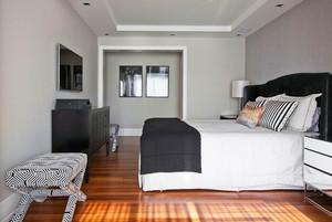 现代风格精致轻松别墅室内装修效果图案例