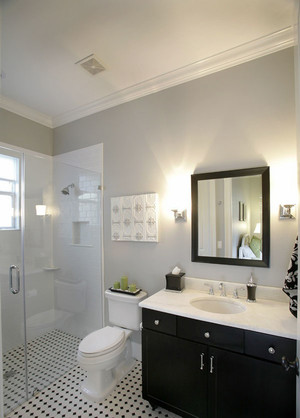 美式风格简约卫生间淋浴房装修效果图赏析