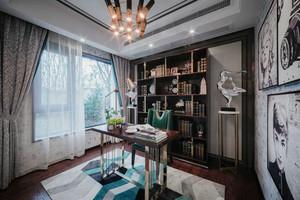 165平米新古典主义风格大户型室内装修效果图赏析