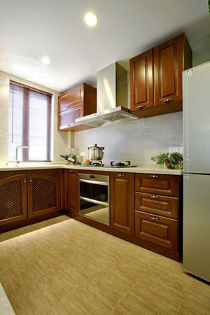 92平米中式风格精致两室两厅室内装修效果图案例