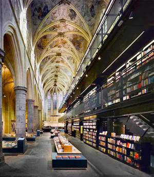 400平米欧式风格大型书店装修效果图