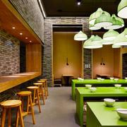 60平米简约风格餐厅装修效果图赏析