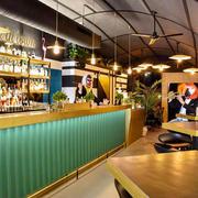 现代简约风格时尚酒吧吧台装修效果图