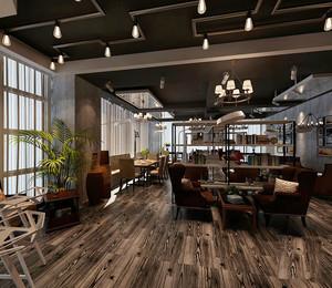乡村风格主题咖啡厅装修效果图赏析