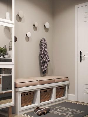67平米北欧风格精美公寓装修效果图赏析