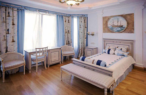 地中海风格精美温馨儿童房装修效果图赏析