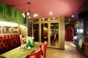 80平米东南亚风格低调奢华室内装修效果图赏析