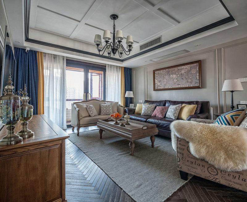 164平米古典欧式风格精装大户型室内装修效果图