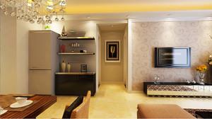 80平米简欧风格精致室内装修效果图案例
