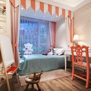 简欧风格精美温馨儿童房装修效果图赏析