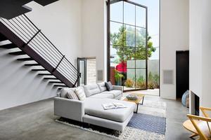 简约风格时尚轻熟别墅室内装修效果图赏析