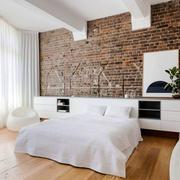 简约风格时尚创意卧室背景墙装修效果图赏析