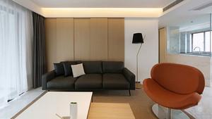 82平米简约风格轻松两室两厅室内装修效果图