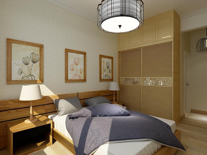 66平米简约风格原宿风一居室装修效果图鉴赏