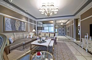 160平米欧式风格精美大户型室内装修效果图案例