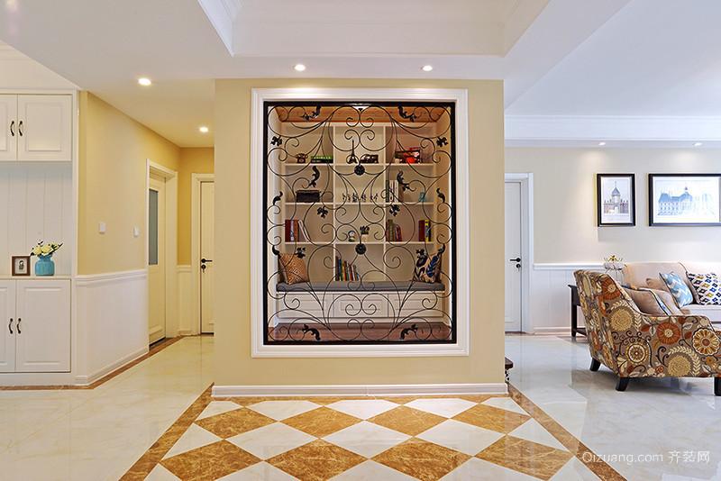 120平米欧式风格精美室内装修效果图赏析