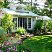 欧式风格别墅花园装修效果图欣赏