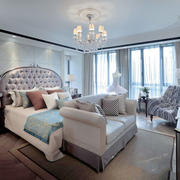 欧式风格别墅室内豪华卧室装修效果图欣赏