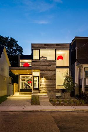 254平米现代风格精致别墅室内装修效果图