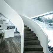 现代风格精致别墅楼梯装修效果图欣赏