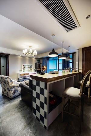 135平米新古典主义风格精装三室两厅室内装修效果图