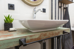 74平米宜家风格清新一居室装修效果图案例
