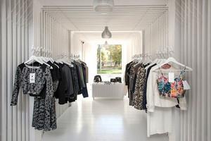 现代风格简约时尚服装店装修效果图