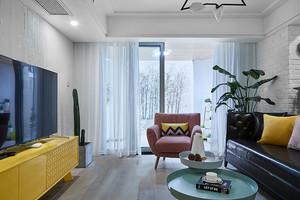 154平米北欧风格清新时尚复式楼装修效果图