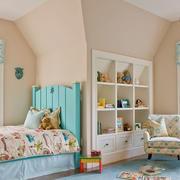 法式风格别墅室内甜美儿童房装修效果图赏析