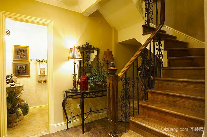 古典欧式风格精致复式楼复式楼室内装修效果图赏析