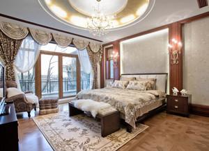 古典欧式风格别墅室内卧室装修效果图赏析