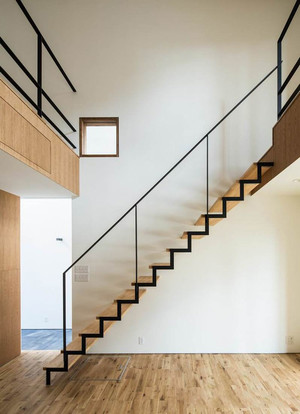 简约风格别墅楼梯设计装修效果图赏析