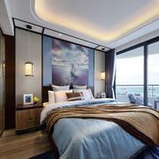 新古典主义风格大户型精致卧室背景墙装修效果图