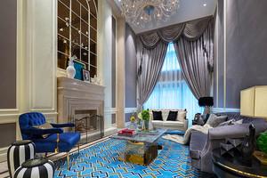 400平米新古典主义风格精致别墅室内装修效果图案例