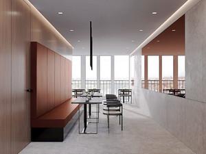 现代风格中餐厅装修效果图赏析