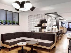 现代风格精致咖啡厅设计装修效果图