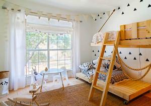 北欧风格清新可爱儿童房装修效果图赏析