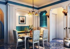 地中海风格精美餐厅装修效果图赏析
