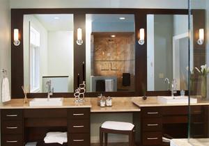 东南亚风格卫生间浴室柜装修效果图赏析