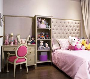 109平米混搭风格精装三室两厅室内装修效果图案例
