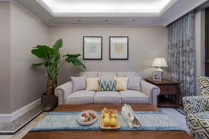 117平米简欧风格精致三室两厅室内装修效果图赏析