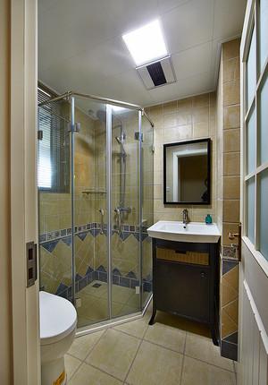 216平米简约美式风格复式楼室内装修效果图