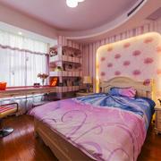 欧式风格粉色甜美儿童房装修效果图鉴赏