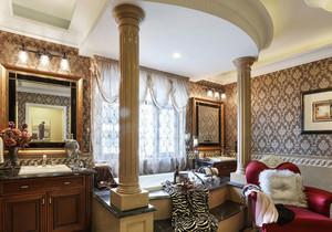 欧式风格别墅室内奢华卫生间装修效果图