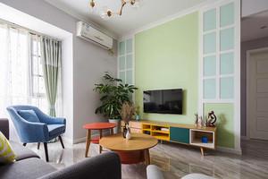 清新风格时尚温馨两室两厅室内装修效果图赏析