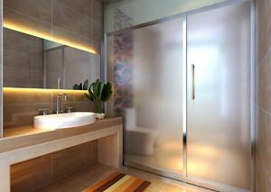 简约日式风格三室两厅室内装修效果图赏析